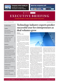 EXECUTIVE BRIEFING issue 18 - page 1