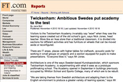 Financial Times, Twickenham: ambitious Swedes put academy to the test