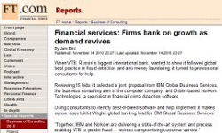 Financial services: Firms bank on growth as demand revives