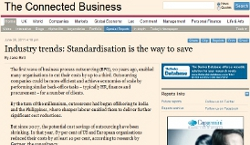 Industry trends: Standardisation is the way to save