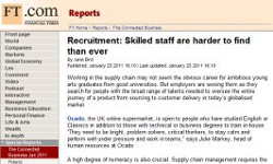 Recruitment: Skilled staff are harder to find than ever